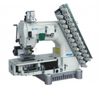 BSM 1414-100-403-601-616-12064 12-игольная плоскошовная швейная машина цепного стежка