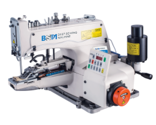 BSM 1377 Пуговичная швейная машина с прямым приводом.