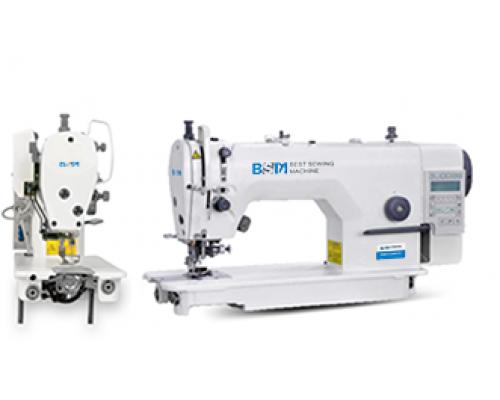 BSM 5303A-W-BD Одноигольная швейная машина челночного стежка с обрезкой края ткани.