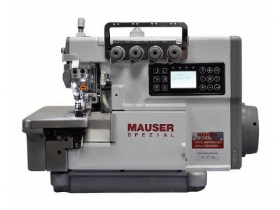 Стачивающе-обметочная промышленная швейная машина (оверлок) Mauser Spezial MO6151-PE4-353B16
