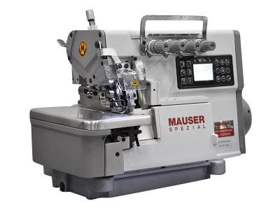 Стачивающе-обметочная промышленная швейная машина оверлок Mauser Spezial MO6141-PE4-243B14