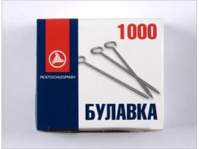 Булавка заколочная тип 1-30 (уп 1000 шт)