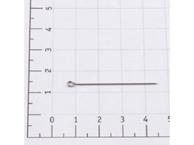 Булавка заколочная тип 1-43 (уп 1000шт) в пластиковой коробочке С3-0743