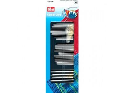 Иглы ручные Prym 128400 для шитья, вышивки и штопки с нитевдевателем (50шт.)