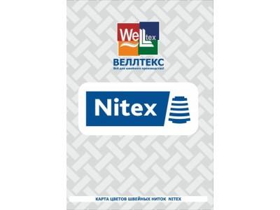 Карта цветов нитей Nitex