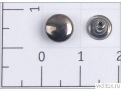 Хольнитены 7х7мм цв черный никель (уп ок.2000шт)