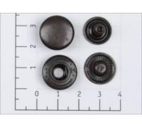 Кнопка L-15 цв оксид сталь 15мм (уп 720шт) К-02