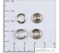 Кнопка рубашечная цв желтый S-001 нерж 9,5мм кольцо (уп 1440шт) КР-06 СТРОНГ