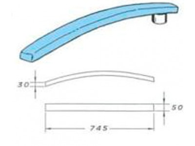 Колодка Comel AKN-03H для раскалывания швов рукава