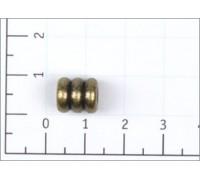 Концевик металл цв антик (уп 100,500,1000шт) Z46-18