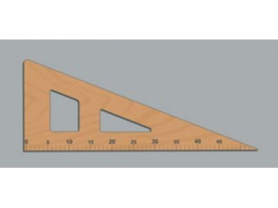 Лекало деревянное Треугольник