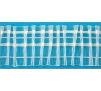 Лента тесьма шторная прозрачная шир 60мм (рул 50м) C701M