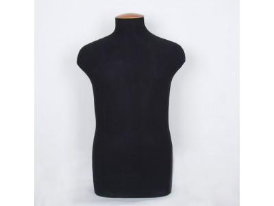 Манекен портновский мужской р50 (100-88-103,2) твёрдый цв чёрный ОСТ
