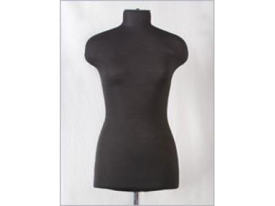 Манекен женский р46 (92-77-102) мягкий цв чёрный