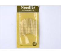 Набор игл для ручного шитья MH-0340-0018HN-110 (уп 20шт) Needles