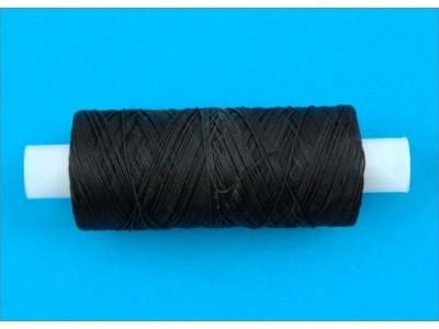 Нить обувная капроновая цв черный (боб 200м) 9К ТВ