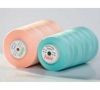 Нить швейная 100% PE 40/2 цв 1301 белый (боб 5000м) EURON