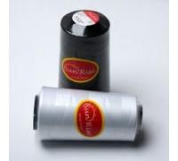 Нить швейная 100% PE 40/2 цв белый (боб 3500ярдов/12боб/120боб) SUN RISE