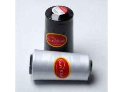 Нить швейная 100% PE 40/2 цв S-150 зеленый (боб 3500ярдов) SUN RISE
