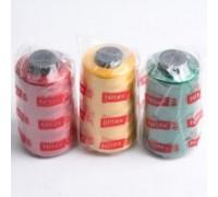 Нить вышивальная 100% Vis 120/2 цв S-260 синий светлый (боб 5000ярдов) VERITAS (ex. NITEX)