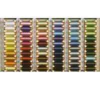Нитки вышивальные Madame Tricote, 100% вискоза, 200m/220 yds