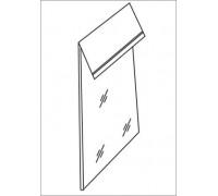 Пакет упаковочный п/п со скотч клапаном 30мкр 35*45+5 (уп 100шт) Люкс
