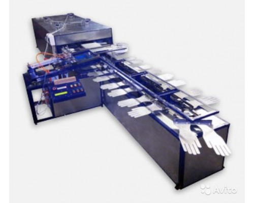 Полуавтоматическая линия Jack PVC для нанесения ПВХ покрытия на рабочие перчатки