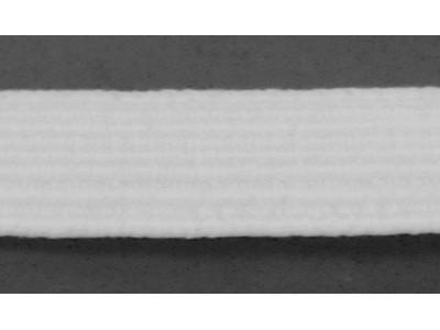 Резинка плетеная продежная цв белый 010мм (уп 10м) 32,54