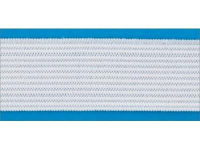 Резинка вязаная лайт цв белый 020мм (уп 25м) Ekoflex