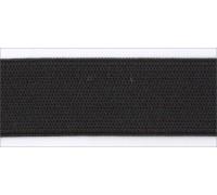 Резинка вязаная лайт цв черный 020мм (уп 25м) Ekoflex