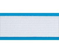 Резинка вязаная стандарт цв белый 030мм (уп 25м) Ekoflex
