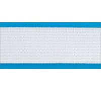 Резинка вязаная стандарт цв белый 040мм (уп 25м) Ekoflex