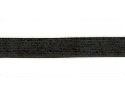 Резинка вязаная стандарт цв черный 020мм (уп 25м) Ekoflex