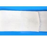 Резинка вязаная цв белый 050мм (уп 50м) АБ