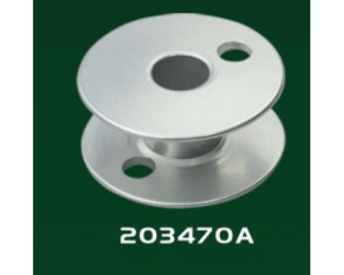 Шпулька аллюминевая для двухигольных машин 203470А