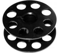 Шпулька на прямострочные машины с увеличенным челноком, чёрн. сталь. перф. 18034