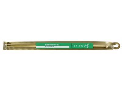 Спицы Hobby&Pro прямые бамбук 35см, 2,0мм (942220) БС