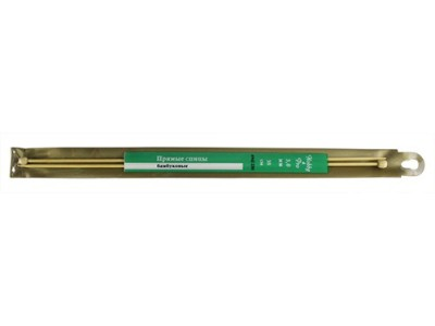 Спицы Hobby&Pro прямые бамбук 35см, 3,0мм (942230) БС