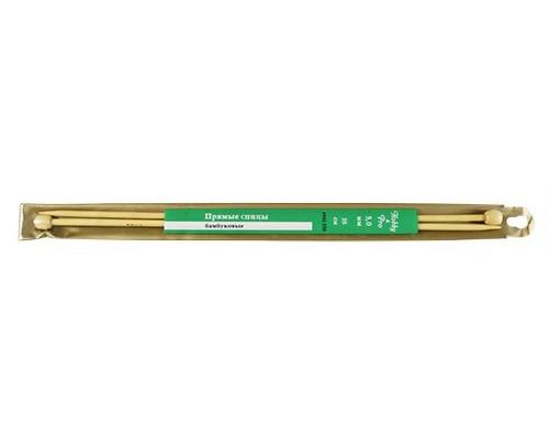 Спицы Hobby&Pro прямые бамбук 35см, 5,0мм (942250) БС