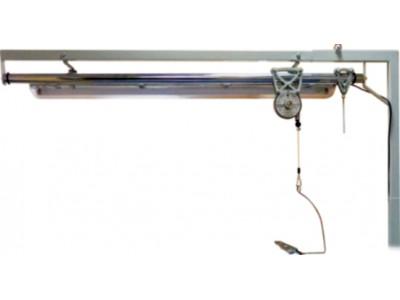 Светильник в сборе с кронштейном и подвесом утюга для стола MP/A-S