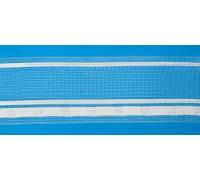 Тесьма шторная прозрачная шир 50мм сборка 1:1,5 (рул 50м) 05с3265-Л