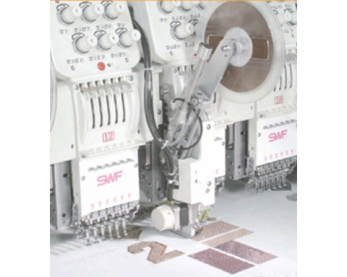 Устройство для пришивания пайеток (для многоголовочных вышив. машин)