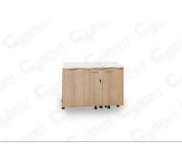 Стол для швейной машины и оверлока Комфорт-4 GOLD ( Пневмо)