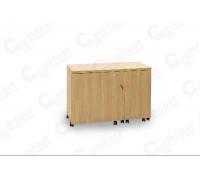 Стол для швейной машины и оверлока Комфорт-3 GOLD ( Пневмо)