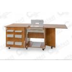 Стол для швейной машины и оверлока Комфорт 1QLW+ GOLD