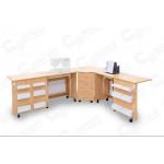 Стол для швейной машины и оверлока Комфорт-6 ( Электро)