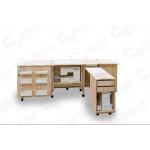 Стол для швейной машины и оверлока Комфорт-4 ( Электро)